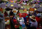 アムパワー市場とナイトクルーズ (バンコク発)