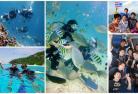 体験ダイビング(日本語プライベートガイド)☆人気の島をアイランド・ホッピング!ラチャノイ島&ラチャヤイ島
