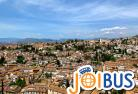 【JOIBUS】マドリッド発グラナダ着(マドリッドからコルドバは高速鉄道AVEを利用、グラナダ着後に観光ができます)