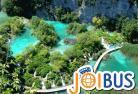 【JOIBUS】スプリット発ザグレブ着(途中プリトヴィッツェ湖群国立公園では入場して散策できます)