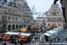 ローテンブルクとシルエットの美しい町バートヴィンプヒェンのクリスマス 《メルヘン・クリスマスマーケット》
