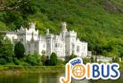 【JOIBUS】ダブリン発ゴールウェイ着(途中カイルモア修道院では自由時間があります)