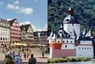 フランクフルト市内&世界遺産ライン川 1日観光