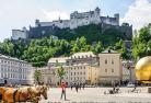 【プライベートツアー】全日空ウィーン直行便利用限定 ウィーン空港から出発するザルツブルク(ウィーンのホテル着、またはザルツブルクのホテル着)