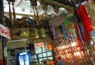 モハメッドアリモスクとハンハリ-リ 市場でショッピング