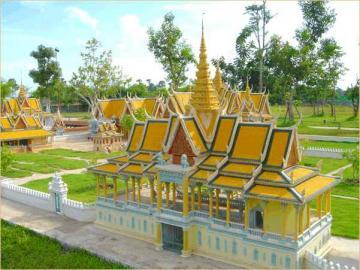 カンボジア文化村観光<午後>