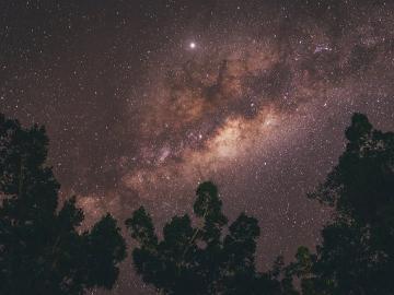 星空見学と夜景ツアー