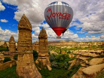 カッパドキア熱気球フライト!世界遺産上空をふわり空の旅 [日本語サポートあり]