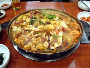 釜山市内終日観光と海鮮料理ツアー