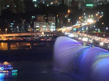 ソウル夜景ツアー「漢江ライブ遊覧船&Nソウルタワー」