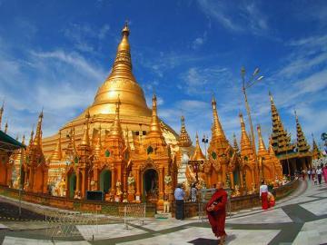 アウンサンスーチーの生家を訪ねる ヤンゴン1日市内観光 [昼食付]