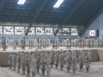 西安兵馬俑坑博物館+秦の始皇帝陵+華清池