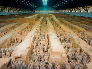 兵馬俑+秦始皇帝陵+美術陶芸工場+半坂遺跡(混乗)