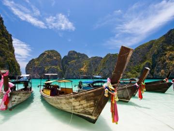 ピピ島&バンブー島1日ツアー+本格スパ体験☆豪華スパや古式タイマッサージなど4種類のスパから選べます!