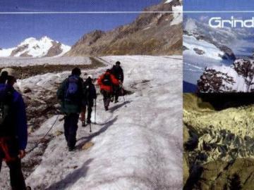 ③「アレッチ氷河」トレッキング・コース(1泊2日コース)