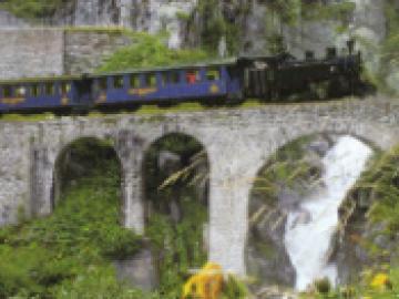 3つの峠を巡る旅 (フルカ蒸気機関車全線とミニバスの旅)