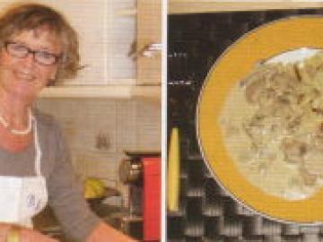スイス人家庭訪問と家庭料理体験