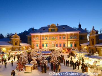【12月16日、18日、22日限定】世界遺産ザルツブルクとヘルブルン宮殿のクリスマスマーケット