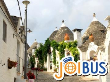 【JOIBUS】ナポリ・アマルフィ・アルベロベッロ・マテーラ 南イタリア周遊2日間