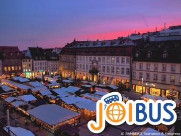 【JOIBUS】クリスマススペシャル フランクフルト発ミュンヘン着 (途中バンベルクとニュルンベルクでは散策時間があります)