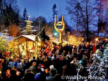 【12月4日、9日、11日限定】世界遺産ザルツブルクとハルスバッハ 知られざる森のクリスマスマーケット