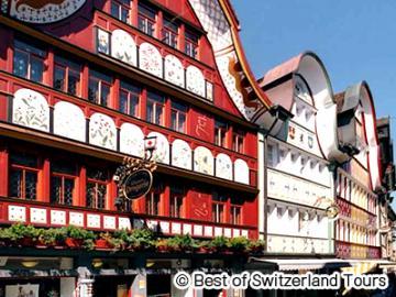 伝統的なスイスの村 アッペンツェル1日観光