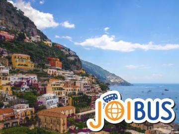 【JOIBUS】ナポリ発アルベロベッロ着(途中アマルフィ海岸ドライブとアマルフィでは散策時間があります)