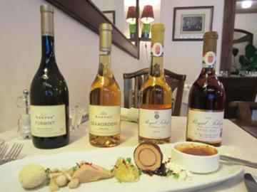 至高のフォアグラと本気のトカイ・ワイン