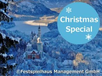【11月30日~12月23日の金・土・日曜限定】 ノイシュヴァンシュタイン城、世界遺産ヴィース教会とアウグスブルクのクリスマスマーケット