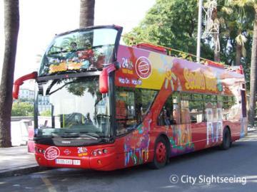 乗降自由バス1日券(セビリヤ市内)