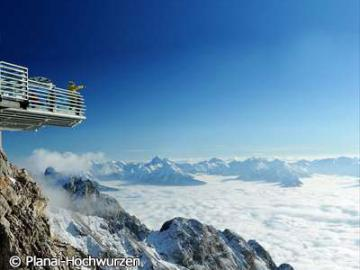 【6月から9月 催行日限定】 世界遺産ダッハシュタイン山塊と絶叫スカイウォーク体験