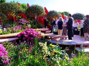 【5月21日・23日限定】英国在住の日本人庭師がじっくり解説!花の祭典チェルシーフラワーショー午前見学ツアー