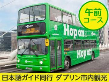 【プライベートツアー】 貸切日本語ガイドがご案内 乗り降り自由バスで巡るダブリン市内午前観光