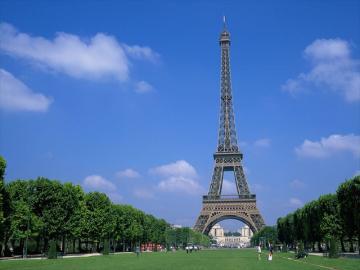 パリ市内観光(セーヌ河クルーズとエッフェル塔の展望台)