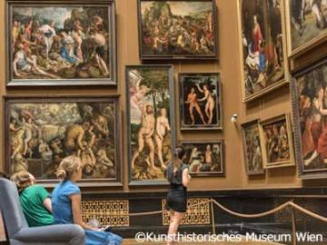ウィーン美術史美術館午後観光 ~ヨーロッパ3大美術館!豪華なカフェでのケーキセット付き~