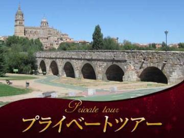 【プライベートツアー】 専用車で行くサラマンカ終日観光 ~スペイン最古の大学と美しいマヨール広場のサラマンカへ~