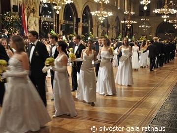 【12月31日限定】 ウィーン市庁舎で祝う大晦日(シルベスター)ガラディナー