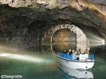 ウィーンの森 午後観光~中央ヨーロッパ最大の地底湖へ!