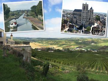 エッフェル設計の運河橋と世界遺産ブールジュ1日観光 ~ロワール白ワインと昼食付~
