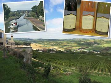 ロワールのいいとこ取り1日観光 昼食付 ~伝統陶器ジアン、AOPワインとチーズ、エッフェルの運河橋