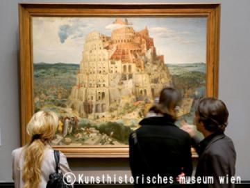 ウィーン旧市街を一望 ヨーロッパ絵画の世界