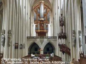 聖ヤコブ教会であなただけのためのオルガンコンサート