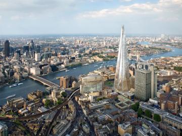 ロンドンの新名所ザ・シャードと世界遺産ロンドン塔入場券