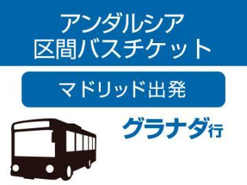 アンダルシア区間バス(マドリッド発グラナダ行 中・長距離バス)