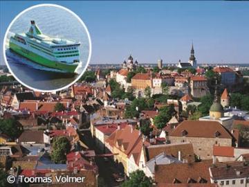 ヘルシンキからエストニアの首都・世界遺産の街タリンへ ~ヘルシンキ港での日本語アシスタント付き