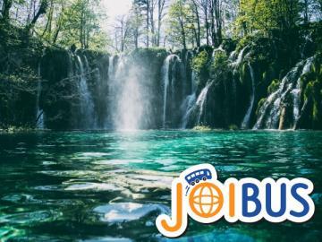 【JOIBUS】ザグレブ発スプリット着(途中プリトヴィッツェ湖群国立公園では入場して散策できます)