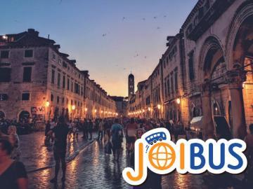 【JOIBUS】ザグレブからドブロブニクへ クロアチア2日間周遊(南行き)