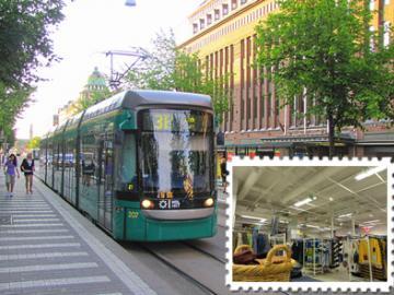トラムで巡るヘルシンキ雑貨ツアー (カール・ファッツェル・カフェのカフェ・クーポン付き)