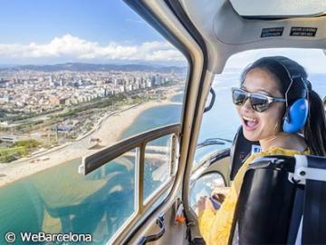 バルセロナを空からも、海からも!!「バルセロナ360度ツアー」