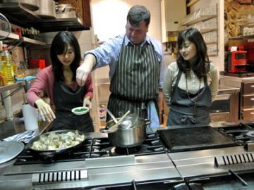 会員制の美食倶楽部で料理教室(美食コーディネーター山口純子さん同行)